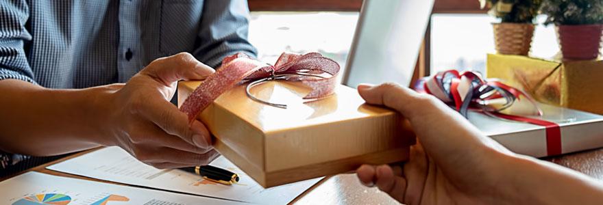 Offrir des cadeaux d'entreprise aux salariés